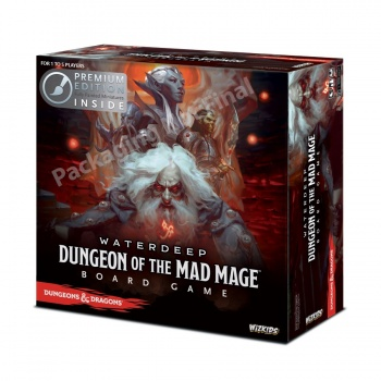 D&D Waterdeep: Dungeon of the Mad Mage Adventure System Board Game Premium Edition - EN