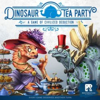 Dinosaur Tea Party - EN