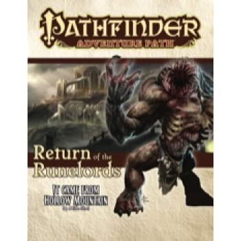 Pathfinder Adventure Path: It Came from Hollow Mountain (Return of the Runelords 2 of 6) - EN