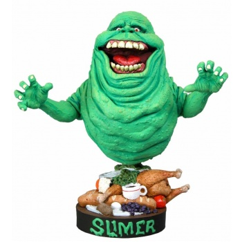 Ghostbusters - Head Knocker - Slimer 18cm