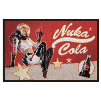 Fallout Doormat Nuka Cola Pin-Up