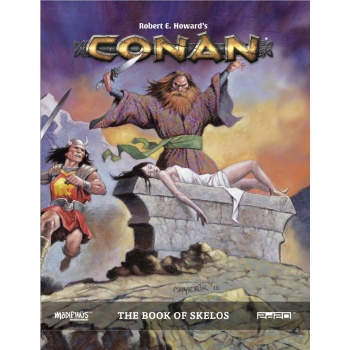 Conan: Adventures in an age Undreamed of - Book of Skelos - EN