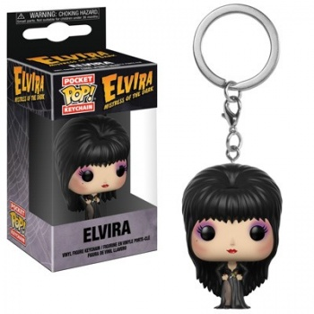 Funko POP! Keychain: Horror – Elvira Vinyl Figure 4cm