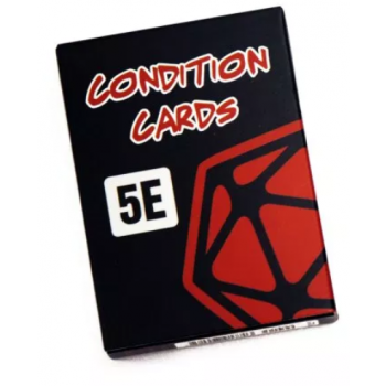 D&D 5E RPG Condition Cards - EN