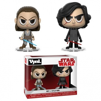 Funko Vynl. - Star Wars - Rey & Kylo (TFA) 2-Pack Action Figures 10cm