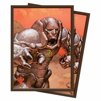 UP - Standard Deck Protector - Magic the Gathering Karn, Silver Golem (100 Sleeves)