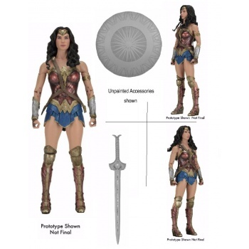 DC Comics Wonder Woman The Movie - WONDER WOMAN 1/4 Scale Action Figure 45cm (Slightly damaged box)