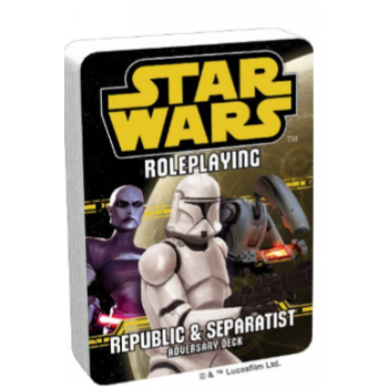FFG - Star Wars RPG: Republic and Separatist Adversary Deck - EN