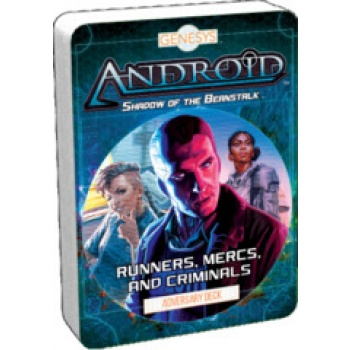 FFG - Genesys RPG Runners, Mercs, and Criminals Adversary Deck - EN