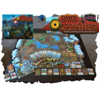 Dawn: Rise of the Occulites (including 3 Expansion Tribes) Unpainted - EN