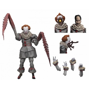 "IT - Ultimate ""Dancing Clown"" Pennywise Action Figure 18cm"