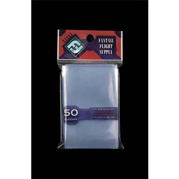 FFG Supply Clear Sleeves - Mini European Board Game (50 Sleeves)