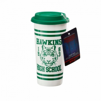 Funko POP! Home - Lidded Mug: Hawkins High School