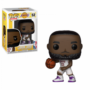 Funko POP! NBA: Lakers - Lebron James (White Uniform) Vinyl Figure 10cm