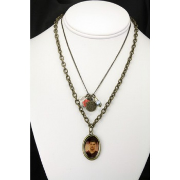 Twilight Breaking Dawn Jacob Double Chain Necklace