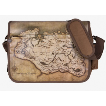 The Elder Scrolls V: Skyrim Messenger Bag Map
