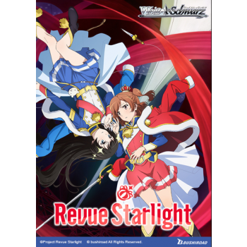 Weiß Schwarz - Booster Display: Revue Starlight - (20 Packs) - EN