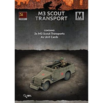 Flames of War: M3 Scout Transport