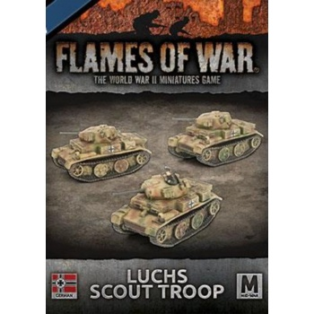 Flames of War: Panzer II (Luchs) Scout Troop