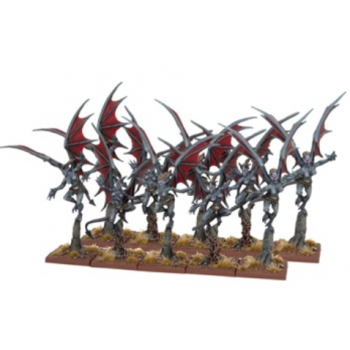Kings of War - Abyssal Dwarf Gargoyles (Troop) - EN