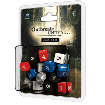 Outbreak Undead 2nd Ed RPG Dice - EN