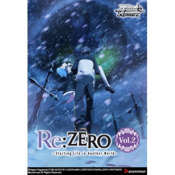 Weiß Schwarz - Booster Display: Re:ZERO Starting Life in Another World Vol.2 (20 Packs) - EN