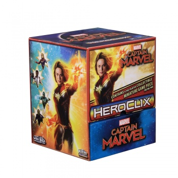 Marvel HeroClix: Captain Marvel Movie Gravity Feed - EN