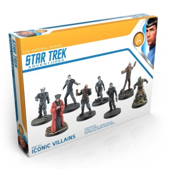 Star Trek Adventures - 32mm Miniatures, Iconic Villains - EN