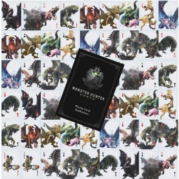 Monster Hunter World Playing Cards