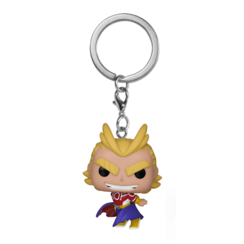 Funko POP! Keychain My Hero Academia - All Might (Silver Age) Vinyl Figure 4cm