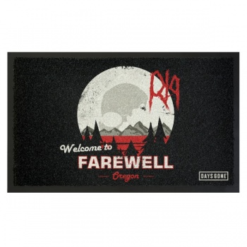 Days Gone Doormat - Farewell