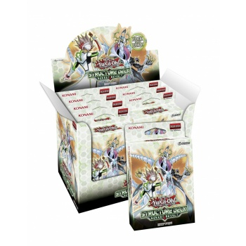 YGO - Structure Deck Display - Rokket Revolt (8 Decks) - EN