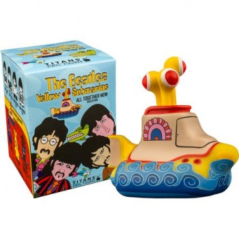 Titan Merchandise - The Beatles TITANS: Yellow Submarine: The 'All Together Now' Collection CDU of 18 Vinyl Figures 8cm