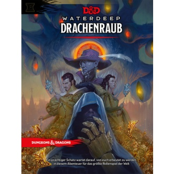 Dungeons & Dragons - Dungeon Master's Screen - Drachenraub - DE
