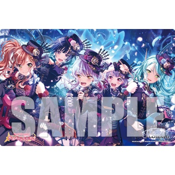 Bushiroad Rubbermat Collection Extra Vol.156 Roselia Neo-Aspect Garupa Starlight Fes 2019 Event Exclusive Supplies