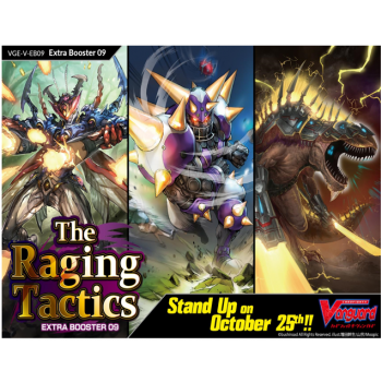 Cardfight!! Vanguard V - The Raging Tactics Extra Booster Display (12 Packs) - EN