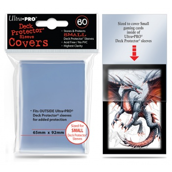 UP - Small Deck Protector Sleeve Covers - (60 Sleeves)