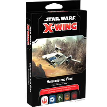 FFG - Star Wars X-Wing 2nd Edition Hotshots and Aces Reinforcements Pack - EN