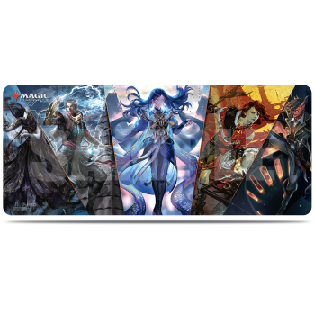 UP - 6ft Table Playmat - Magic: The Gathering War of the Spark Alternate Art Planeswalker V1