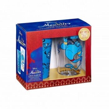 Funko POP! Homewares Aladdin Pint Glasses: Service