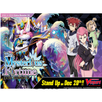 Cardfight!! Vanguard V - The Mysterious Fortune Extra Booster Display (12 Packs) - EN