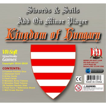 Swords & Sails: Kingdom of Hungary Minor Player Add-on - EN