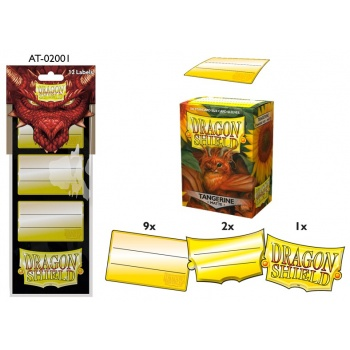 Dragon Shield - Label pack #1