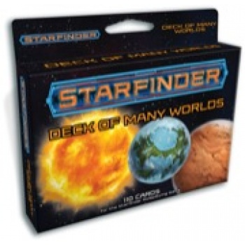 Starfinder Deck of Many Worlds - EN