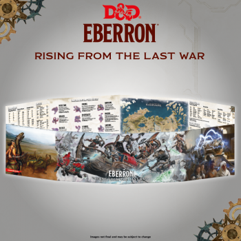 D&D - Rising from the last war - Eberron DM Screen