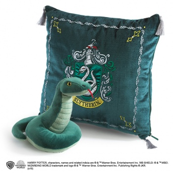 Harry Potter - Slytherin House Plush and Cushion