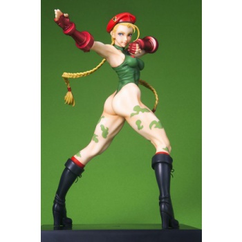 Bishoujo Collection Street Fighter Cammy 1/7 Scale Statue 23cm