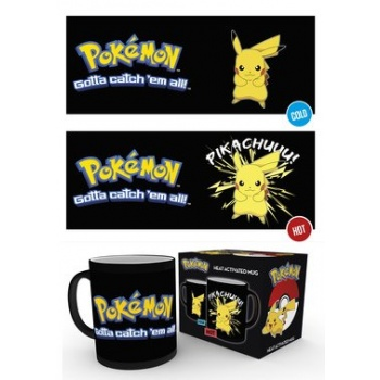 GBeye Heat Change Mug - Pokemon Pikachu