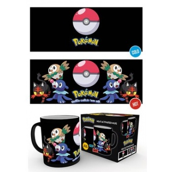 GBeye Heat Change Mug - Pokemon Catch Them All