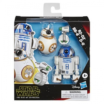 Star Wars Galaxy of Adventures R2-D2, BB-8, D-O Actionfigures 3-Pack 13cm